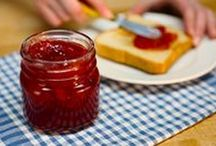 Homemade Jams and Jellies / When life hands you lemons, you make lemonade. When it hands you sweet, juicy strawberries, make a 30-minute strawberry freezer jam! Our top-rated jam and jelly recipes let you capture the deliciousness of seasonal fruit at its ripest—easily!  / by Kraft Recipes