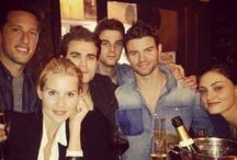 the vampire diaries / At this point, mainly Paul Wesley, Candice Accola, Claire Holt & Joseph Morgan