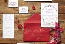 { L'Idea Grafica - Partecipazioni } / Wedding stationery design by L'Idea Grafica All this products are handmade... in my studio! If you are interested in something, contact me!
