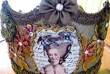 Altered Art  / Altered art is what we're all about! These are creations that have caught our eye... / by MoonlightJourney