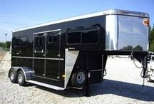 Horse Trailers / These impressive horse trailers are available for sale on Horseclicks.com. Fall in love with one? Click through to contact the seller. Do you want your horse trailer to appear here? Call (786) 433-7120 to join Horseclicks.  / by HorseClicks