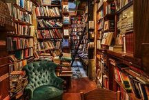 Books, Bookstores, Libraries / Everything I love about books--the words, the look, the feel, the smell--is evoked by the images here.