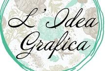 { L'Idea Grafica - Il blog! } / From my blog
