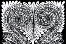 doodles & zentangles / Gorgeous zentangles, zendoodles, inspiration and tips / by Karla Archer