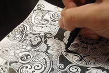:: Zentangle & Zendoodle Patterns ::