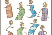 Crafts_Tipografia_Numeros / by GMC 75
