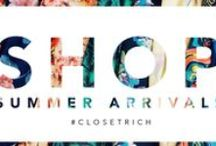 CLOSET RICH SUMMER 2014 / Check out this merchandise on our website www.closetrich.com #shopping #designer #discount #sales #fashion / by Closet Rich