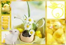Easter in Yellow