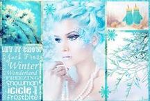 Winter in Turquoise