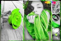ColorSplash Green