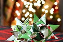 Christmas Decor Inspiration and Tutorials / Christmas is the perfect time of year for handmade decorations and gifts.  Find tons of DIY tutorials here!