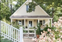 Cozy Cottages & Cabins / Cozy country cottages, cabins and farmhouses.  / by Alia