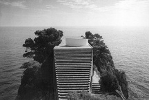 Casa Malaparte - Capri, Italy - MY DREAM HOME. / I fell in love with this house when I saw the Godard film Le Mepris and have been obsessed with it ever since. It was a dream to cruise past it in a boat when I was working on Capri with Nick Saglimbeni in 2009.
