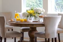 Kitchen Tables / A perfect spot to sit down to eat.