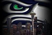 Seahawks!! / by Jeannine Eubanks-Harris