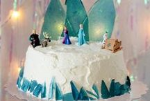 Frozen Birthday Party / DIY tutorials for Frozen themed birthday party decor, games, recipes, and favors.