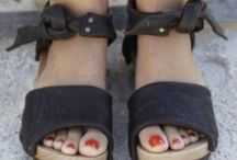 Sandals / Strappy sandals for warm weather fashion / by Zane Emily