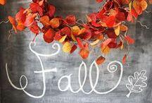 lovin' autumn / seasons // Fall holidays + event decor ideas . . . keepin' it simple