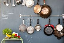 stylin' kitchens / K I T C H E N  decor and interior design inspiration + concepts for styling photoshoots