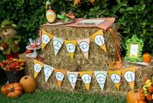 Little Pumpkin Birthday Party / by Heather Conneran