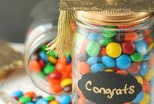 Graduation -- Party Ideas, Crafts, and Recipes / Here you will find DIY and craft ideas for graduations parties.  Find homemade decorations, try out a new party recipe, or make a special card or gift for the graduate!