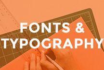 - FONTS / TYPEFACES INSPIRATION - / fonts, typography, blog, typeface, best free font, script font, serif font, sans serif font, handwritting font, cursive font, retro font, typewriter font, google font, typographycal