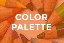 - COLOR INSPIRATION - / blog color palette, colour, couleur, select a color palette for your brand, choose a color palette for your blog, finding your blog color palette, color psychology, brand color palette