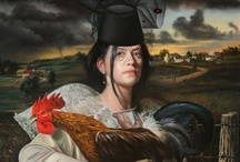 Art Attacks - David Michael Bowers / Paintings by David Michael Bowers