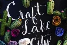 Craft Lake City / This board shows the exciting work Craft Lake City is doing. Craft Lake City is a non-profit organization that educates, promotes, and inspires.