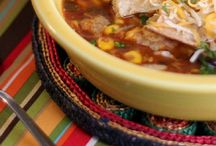 Food for Mexican Night / On Thursday night I try to pick foods with Mexican flair.  Here is  a collection of foods want try.