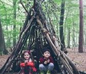 Outdoor Activities for Kids / Being in nature is good for the mind and body. And kids love it. Great ideas for having fun outside and for outdoor kids activities and adventures | www.babaandboo.com