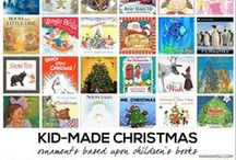 Kid-Made Christmas: Ornaments / Chocked full of all kinds of handmade kiddo Christmas ornaments.  This fun and colorful collection of ornaments are either made by kids, or can easily be made by kids!