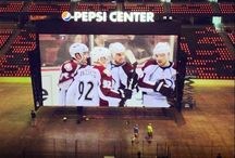 Colorado Avalanche / Bleed burgundy and blue! / by Megan Fleming