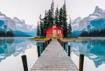 Adventure & Travel / A board of wanderlust and picturesque travel destinations.