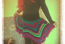 My makes..Crochet, clothes, upcycled, rugs, art...allsorts!! / by Amy Winfield
