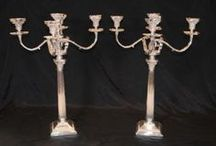 Silver Plate Candelabras / http://canonburyantiques.com/s/silverplate/candelabras/1/  Large range of silver plate candelabras in our Canonbury Antiques Hertfordshire showroom. Victorian style, Regency, classic column silver plate candelabras plus those in the manner of Paul Storr and Matthew Boulton. Get in touch to arrange an appointment to view these silver plate candelabras in our Hertfordshire antiques showroom.  http://canonburyantiques.com/s/silverplate/candelabras/1/