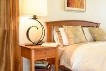 Solid Wood Bedroom Furniture / Our bedroom furniture is 100% American made and crafted from sustainably harvested wood. This eco-friendly furniture is beautiful, high quality, and custom made in Vermont.  / by Vermont Woods Studios