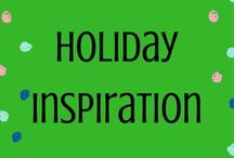 Holiday Inspiration / All holidays in one board! A place to pin ideas for each one
