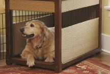 Dog Crates Covers & Cushions / by RadioFence.com