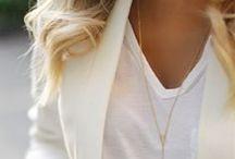 White & Gold Obsessions / Fashion