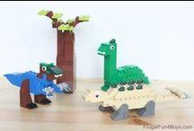 Lego Fun / Lego creations, storage, and other fun.
