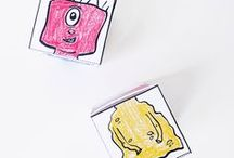 Printable Crafts / Printable crafts for kids that are simple and fun.