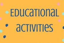 Educational Activities / Toddler learning board