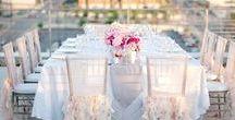Idées décoration mariage   Decoration ideas / Couleurs, styles, aménagement, autres   Colors, styles, set up ideas and others
