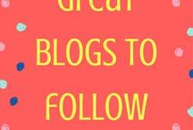 Great Blogs to Follow