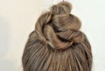 Hair-Tos / #HairTutorials, hair style ideas / by Heather Spohr