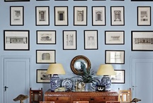 Art Displays / by Corinne Kowal @emeraldgreeninteriors.com