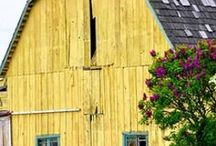 bridges, barns / by Pamela Grady