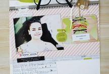 PAGES DE SCRAPBOOKING / Ici, retrouvez les pages de scrapboking de l'équipe créative !  Et pour toujours plus d'inspiration, rendez-vous sur le blog : http://blog.kesi-art.com/