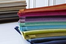Fabrics / by Corinne Kowal @emeraldgreeninteriors.com